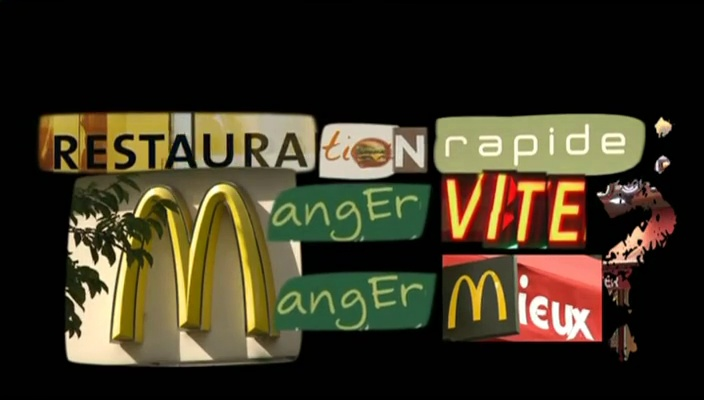 Documentaire Restauration rapide : manger vite, manger mieux