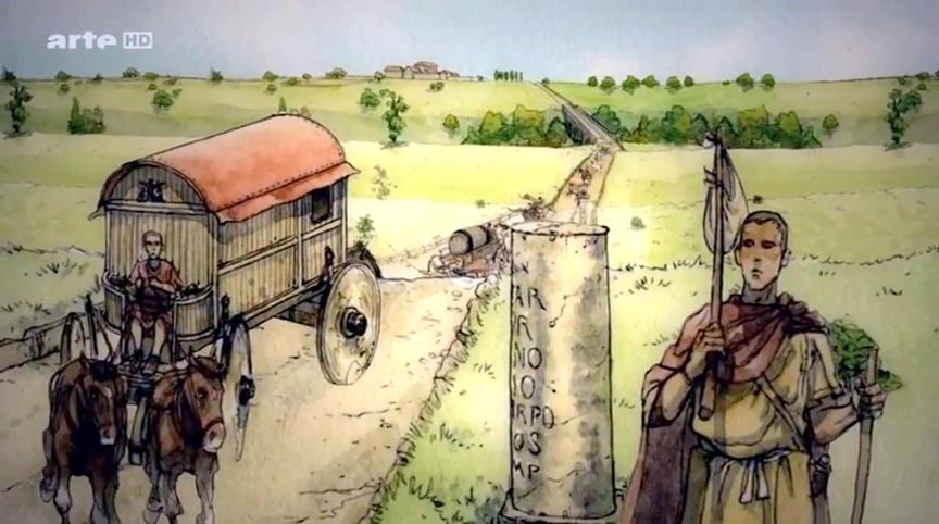 Documentaire Sur nos traces – 24 – Le voyageur gallo-romain