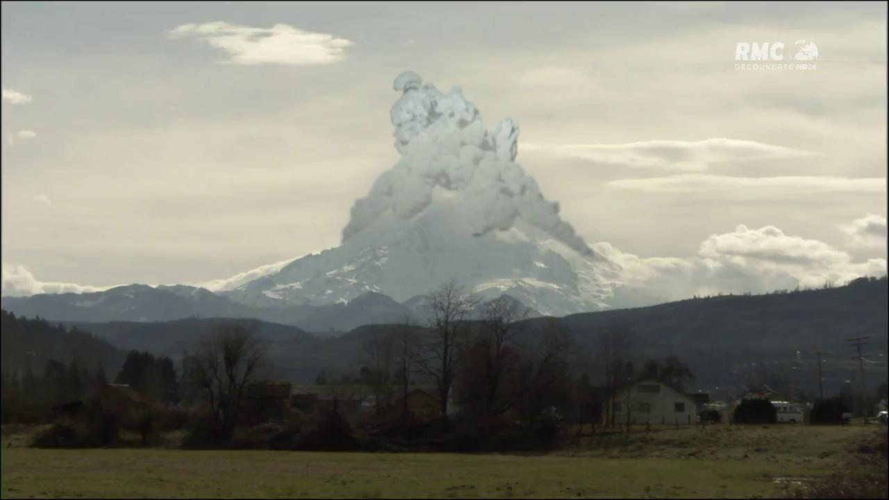 Documentaire Forces de la nature : volcans américains