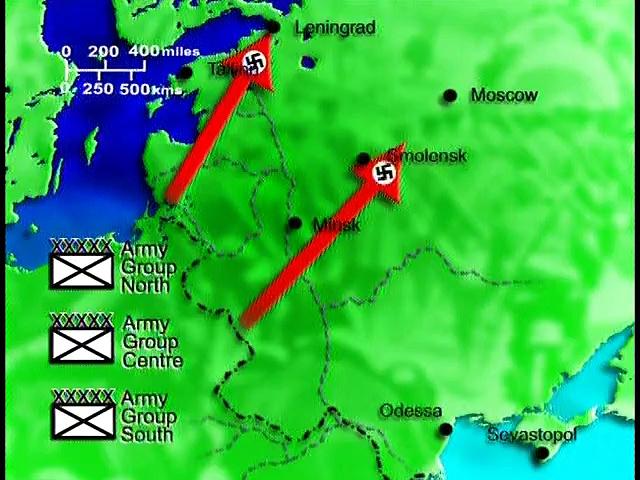 Documentaire L'armée du centre : objectif Moscou
