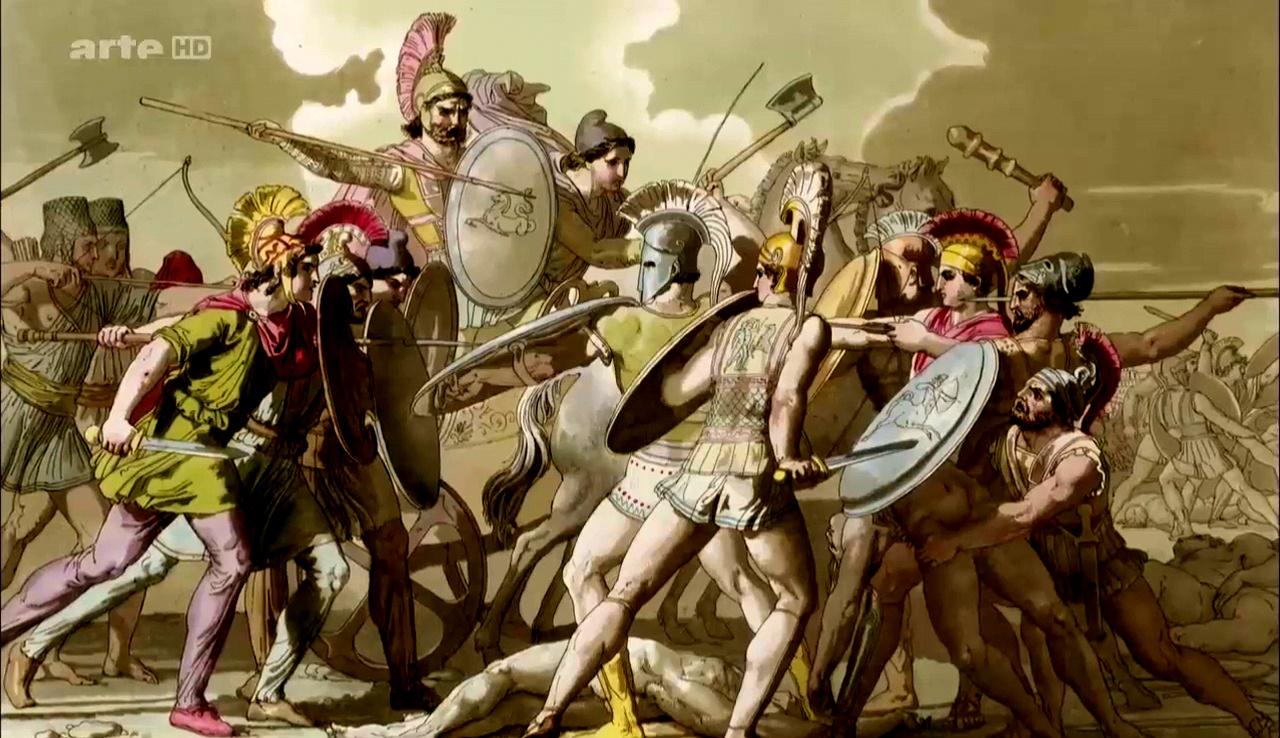 Documentaire Les grands mythes – Antigone, celle qui a dit non