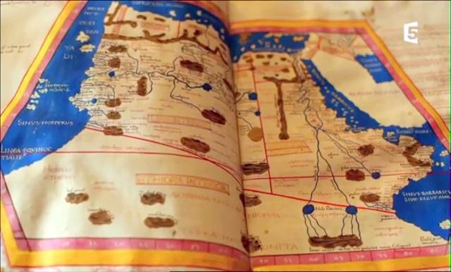 Documentaire La mémoire des cartes – 1 – L'héritage d'Alexandrie