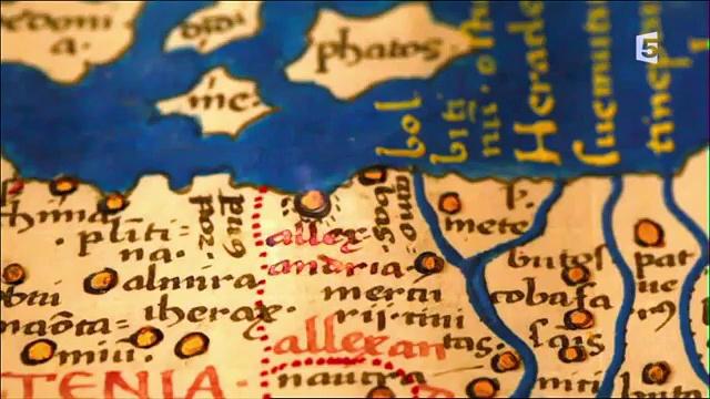 Documentaire La mémoire des cartes – 2 – Le génie de Ptolémée