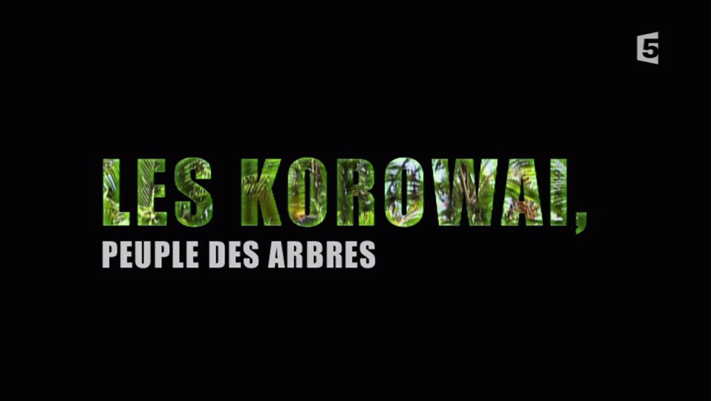 Documentaire Les Korowai, peuple des arbres