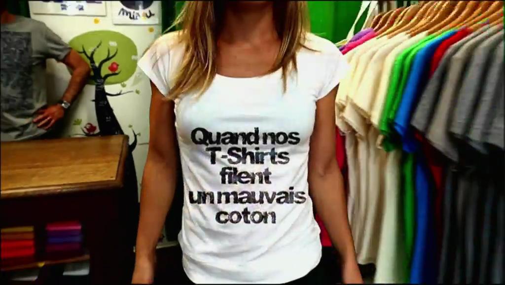 Documentaire Quand nos t-shirts filent un mauvais coton