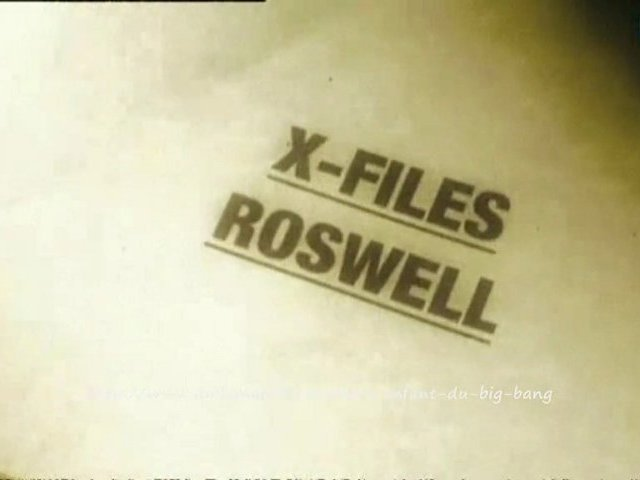 Documentaire Roswell – Extra-terrestre ou affaire d'état ?