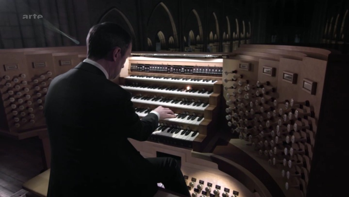 Documentaire Dans le ventre de l'orgue de Notre-Dame