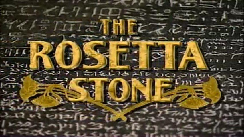 Documentaire La pierre de rosette, l'Egypte révélée