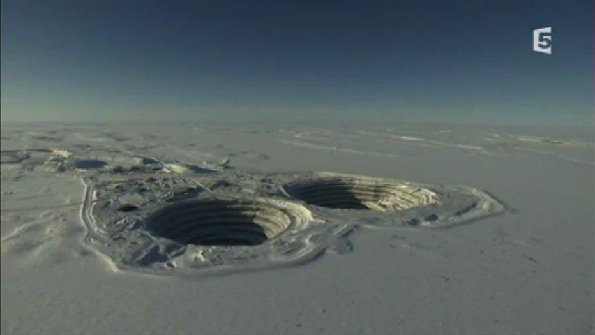 Documentaire Les diamants du pôle