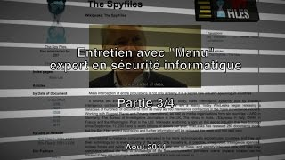 Documentaire Au-delà d'Internet – 3 – Prism, Echelon ou la surveillance généralisée