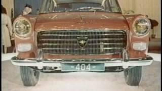 Documentaire La Peugeot 404, une voiture de légende
