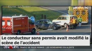 Documentaire Automobile : trafic de faux permis