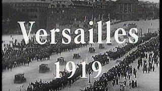 Documentaire 14-18 le traité de Versailles 1919, une paix difficile