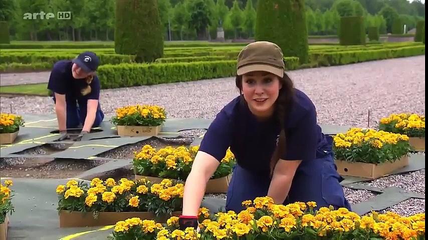 Documentaire Jardins royaux : Drottningholm en Suède