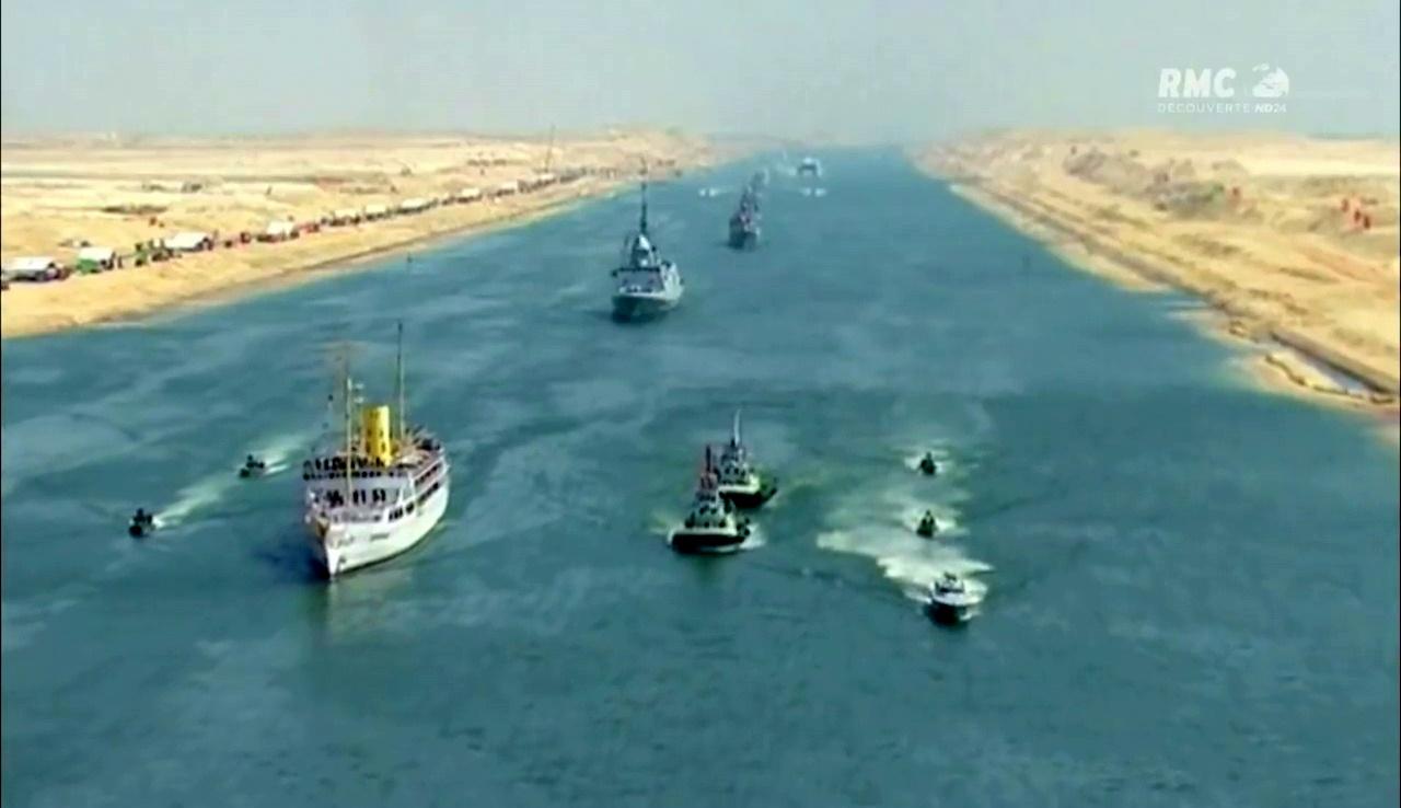 Documentaire Le Canal de Suez, chantier de l'extrême