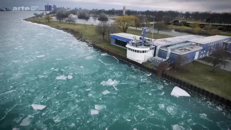 Documentaire Les Etats-Unis au fil de l'eau – La riviere Detroit
