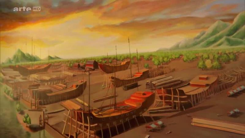 Documentaire Les routes maritimes de la soie (2-2)