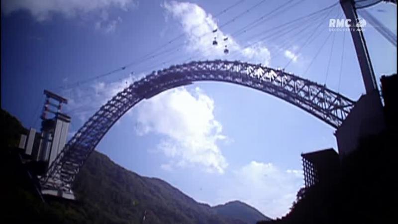 Documentaire Géants de la construction – Ponts d'acier