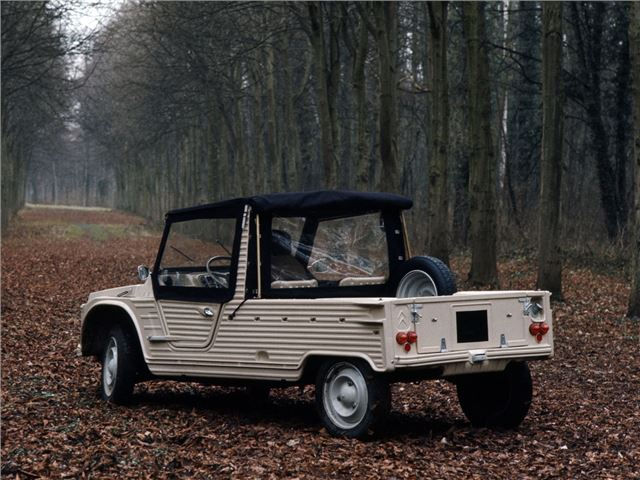 Documentaire Vintage mecanic : la Citroën Mehari