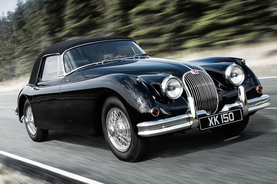 Documentaire Vintage mecanic : la jaguar xk150