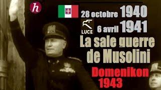 Documentaire 1940-1941 | 1943, la sale guerre de Mussolini : Domenikon