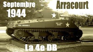 Documentaire 1944, la bataille d'Arracourt