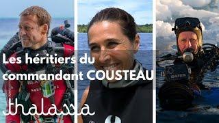 Documentaire Les héritiers du commandant Cousteau