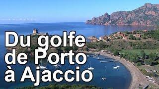 Documentaire Du golfe de Porto à Ajaccio