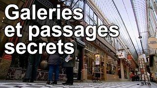 Documentaire Galeries et passages secrets