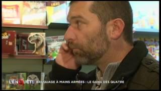 Documentaire Braquage à mains armées : le gang des quatre