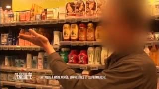 Documentaire Attaque à main armée, empreintes et supermarché