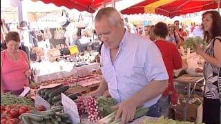 Documentaire Saint-Tropez, le jackpot des marchés de Provence