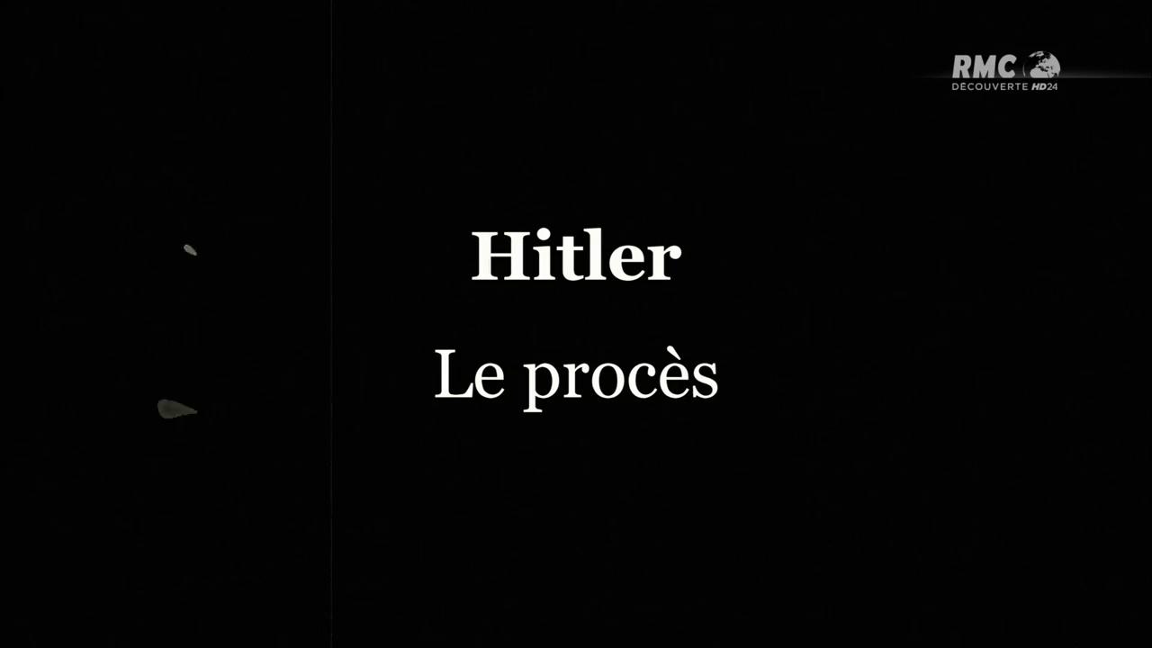Documentaire 1931 : le procès d'Hitler