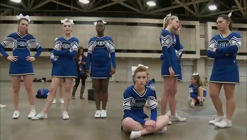 Documentaire Cheerleaders, un mythe américain