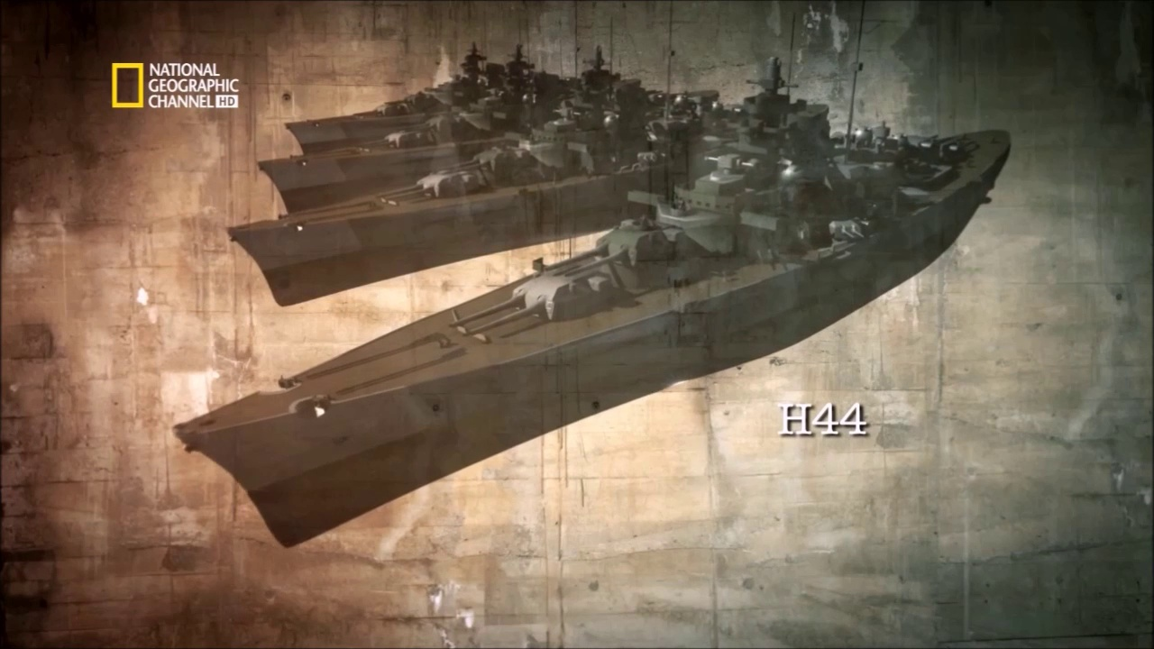 Documentaire La destruction du cuirassé Tirpitz et Bismarck