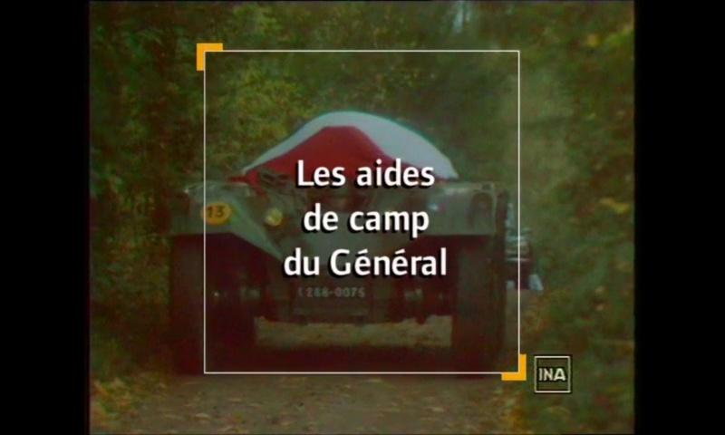 Documentaire Les aides de camp du Général de Gaulle