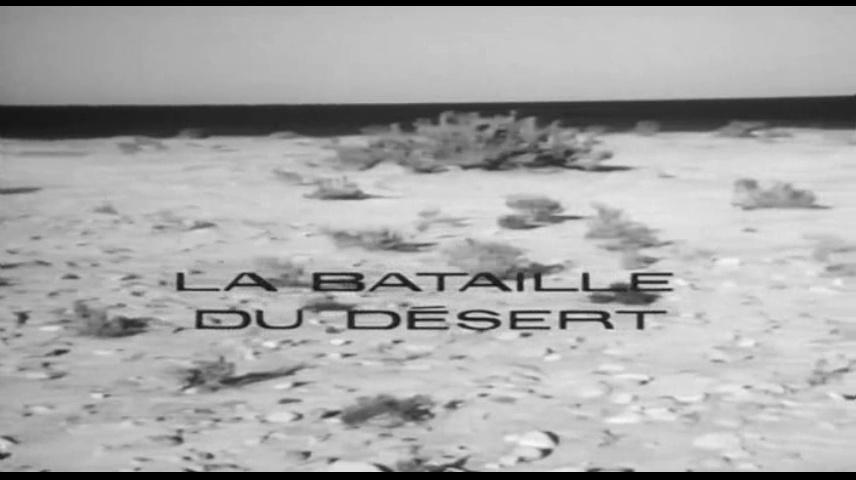 Documentaire Les grandes batailles – Désert (1/2)