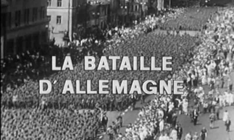 Documentaire Les grandes batailles, la bataille d'Allemagne #1
