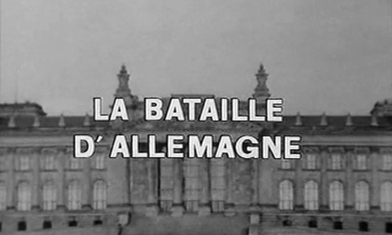 Documentaire Les grandes batailles, la bataille d'Allemagne #2