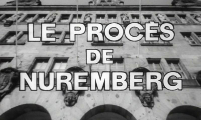 Documentaire Les grandes batailles, le procès de Nuremberg #1