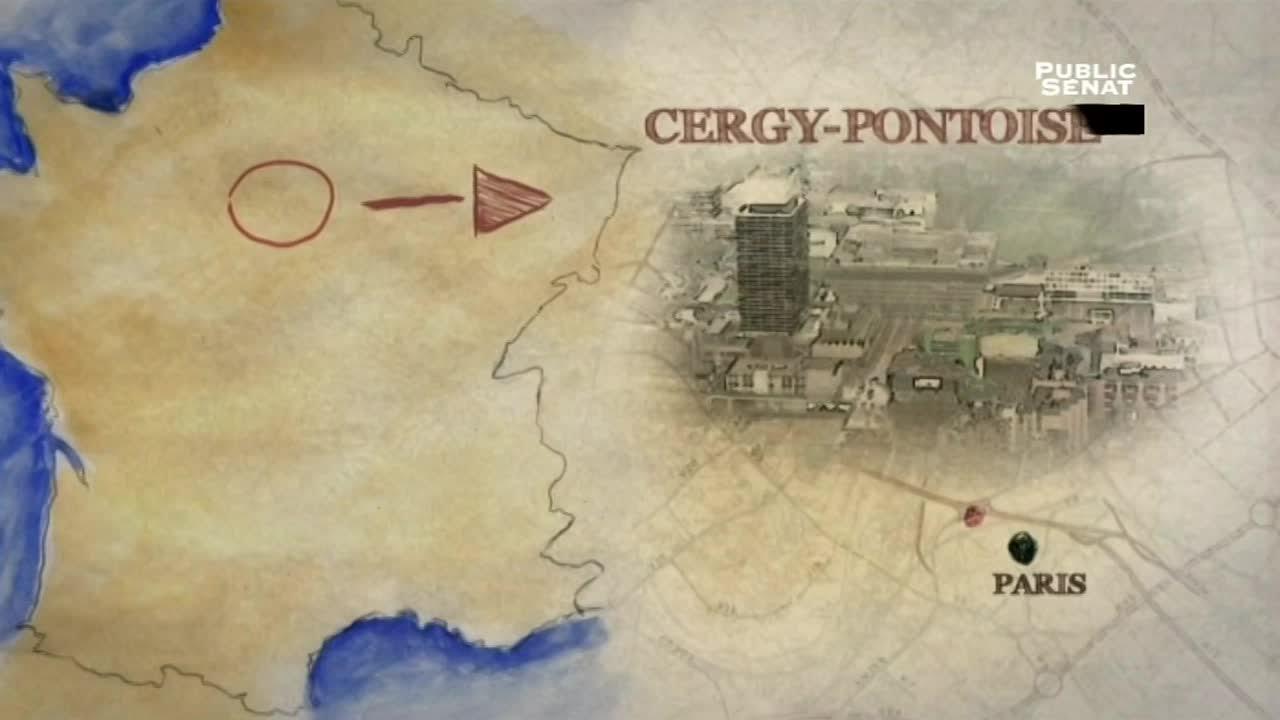 Documentaire Attention grands travaux – Cergy, ville nouvelle