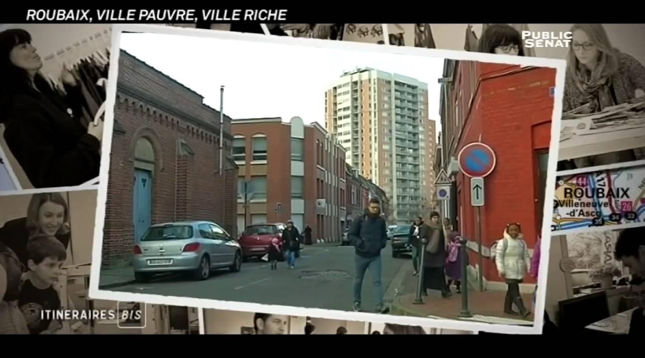 Documentaire Itinéraires bis – Roubaix: ville pauvre, ville riche