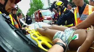Documentaire Avec les pompiers de Mantes-la-Jolie