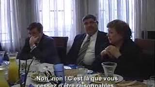 Documentaire De Tel Aviv à Gaza, l'itinéraire de deux sénateurs