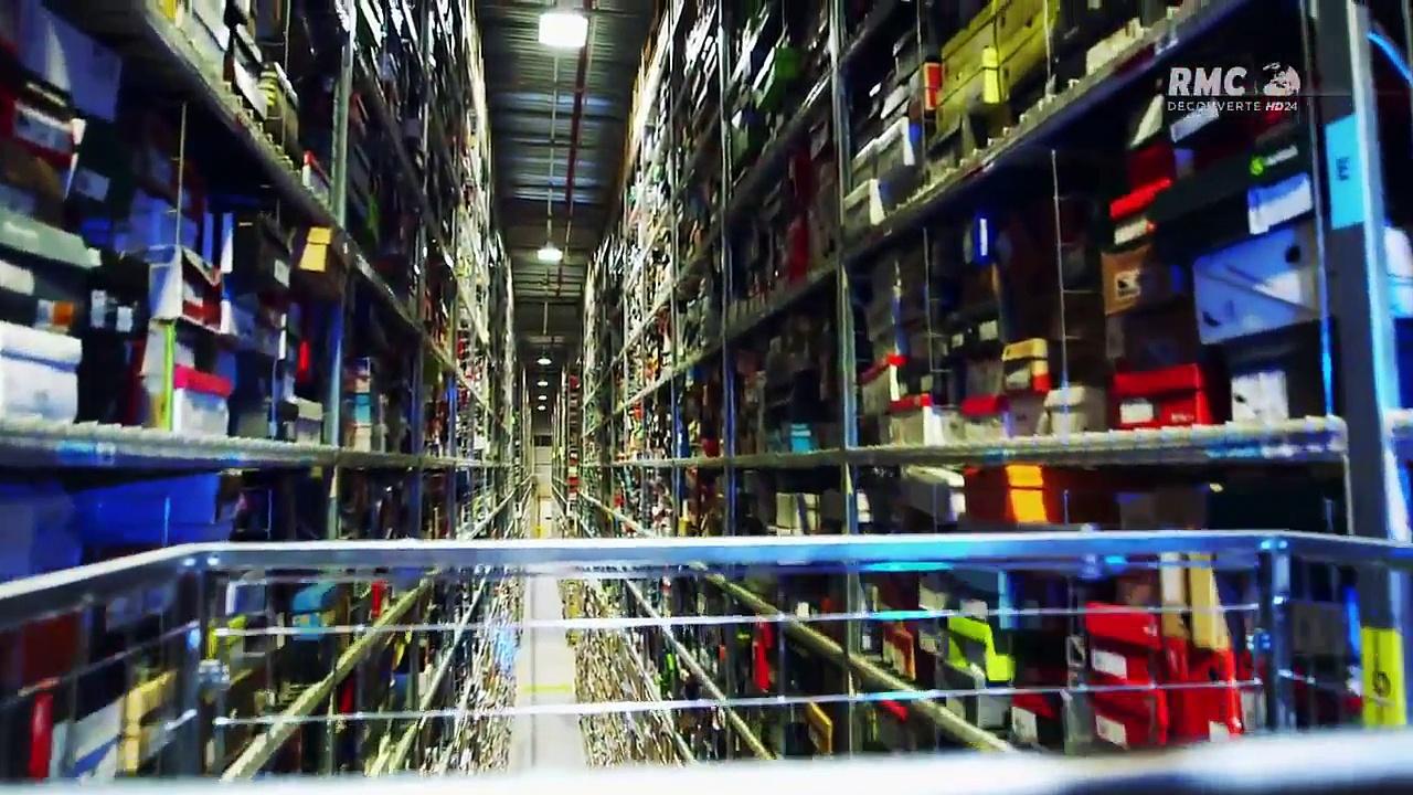 Documentaire Amazon : le défi du logistique