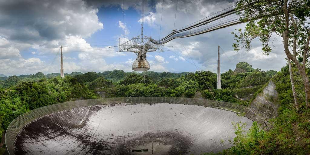 Documentaire Entre Terre et Ciel – Arecibo, un télescope dans la jungle