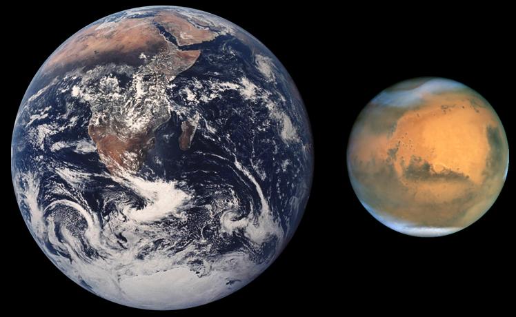 Documentaire Entre Terre et Ciel –  Mars, à la recherche de la Vie