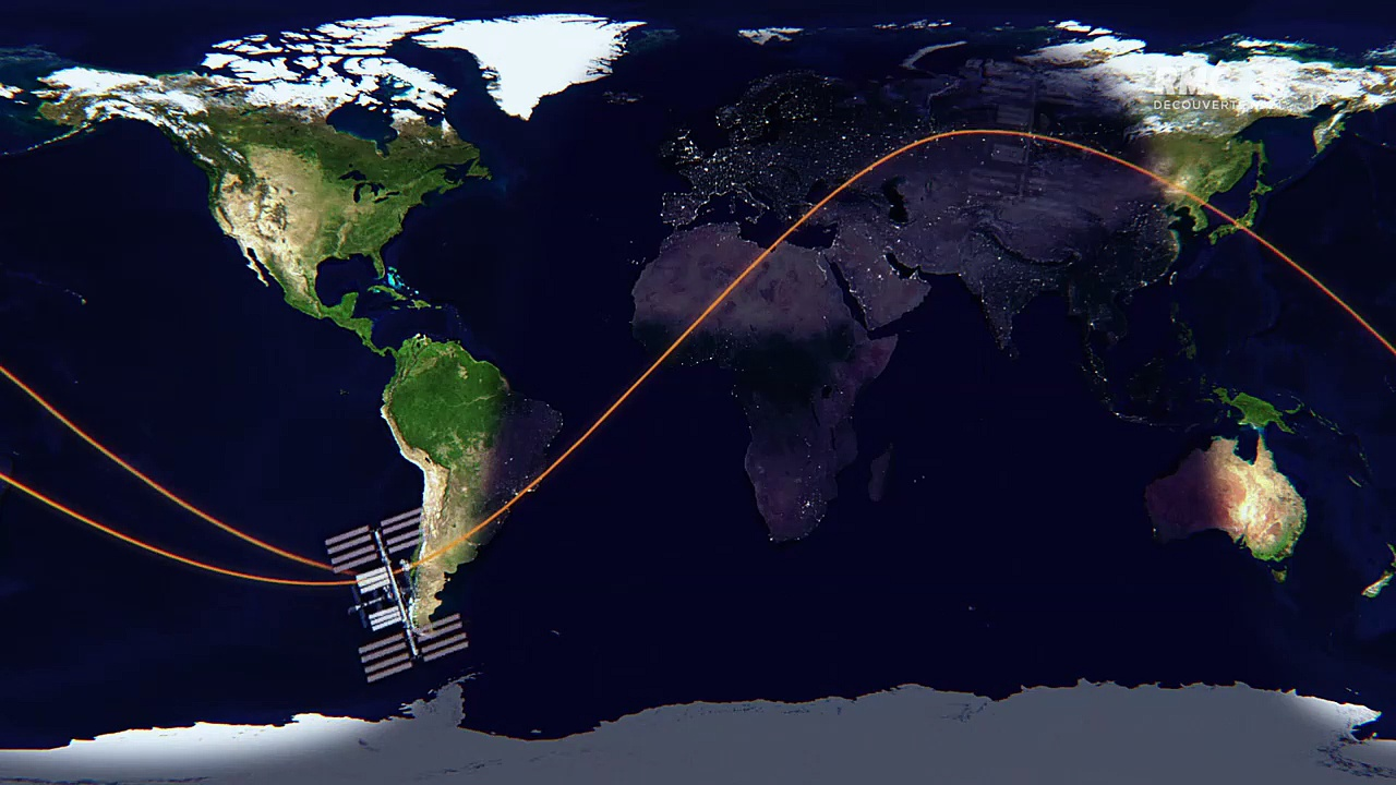Documentaire ISS, mégastructure de l'espace (2/2)