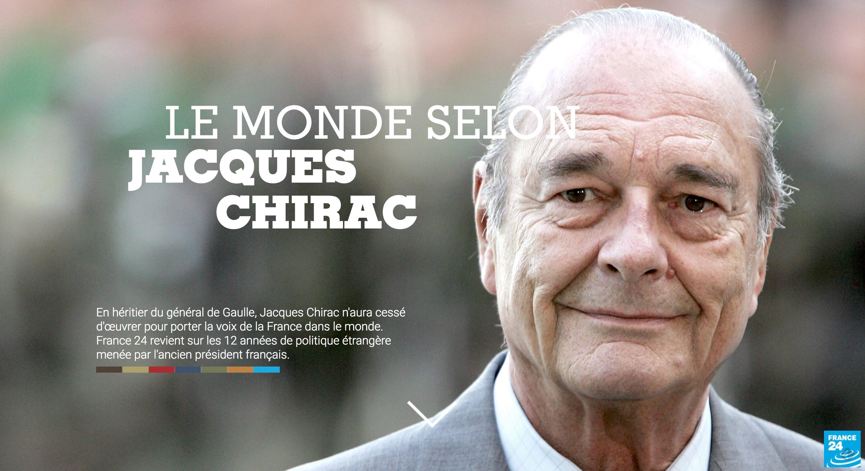 Documentaire Le monde selon Jacques Chirac : Retour sur celui qui a porté la voix de la France à l'étranger