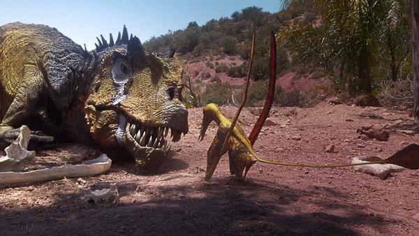 Documentaire Le royaume des dinosaures – 2/4 – Le point d'eau